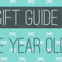 Gift Guide: Three Year Old Boy